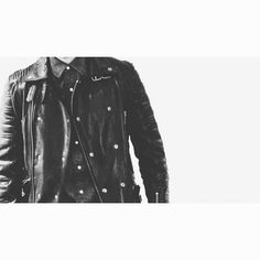 luxury men clothing brand Richard Valentine streetwear leather jacket