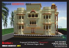 Small Castles, Modern Contemporary Homes, House Front Design, Ground Floor Plan, Futuristic Design, House Elevation, House Floor Plans, Temples, Vip