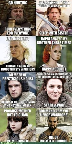 A little Game of Thrones humor. So true...