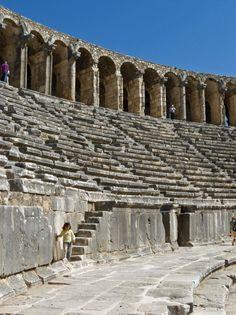 Roman theatre of Aspendos, Turkey
