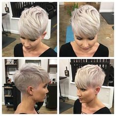 Neue Pixie Haircut-Ideen im Jahr 2019 - The UnderCut - Neue Pixie-Frisuren-Ideen im Jahr 2019 - Short Pixie Haircuts, Short Bob Hairstyles, Hairstyle Short, Formal Hairstyles, Wedding Hairstyles, Short Grey Hair, Short Hair Cuts, Long Hair, Pixie Cut Styles