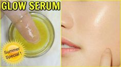 Today in this post I am going to share recipe of one serum that is specially for summer skin. It will keep your skin cool and will also boost your skin glow We all love that extra GLOW on our face & I do get a lot of compliment for my glowing face so in t