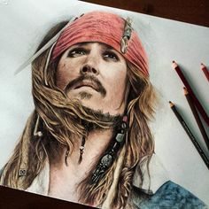 WANT A FREE FEATURE ?   CLICK link in my profile   TAG YOUR FRIENDS !!!  #LADYTEREZIE   Repost from @slim_draw  Captain Jack Sparrow - Pirates of Caribbean  Prismacolor   This took me a while but I feel satisfied   Thank you!   #arts_gallery #johnnydepp #portrait  #drawing #art #pencil #hair  #sketch  #artwork #pencildrawing #eyes #illustration #love #happy #beautiful #instaart #instaartist #instamood #photooftheday #artistic_unity #art_collective #artdiscover #artsanity #arts_help…