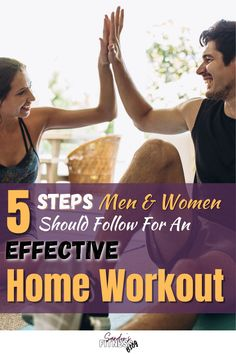 These are the 5 steps both men & women should follow for an effective home workout. I've followed these 5 steps, and my home workouts were lit! I progress more than ever before! #homeworkout #men #women #workout Work Out Routines Gym, Home Exercise Routines, Gym Workouts, At Home Workouts, One Legged Squat, Push Up Bars, Pistol Squat, Best At Home Workout, Body Weight Training