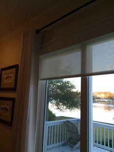 Bathroom Photos, Bathroom Windows, Glass Bathroom, Window Blinds, Blinds For Windows, Window Coverings, Window Treatments, Glass Block Windows, Painting Bathroom Cabinets