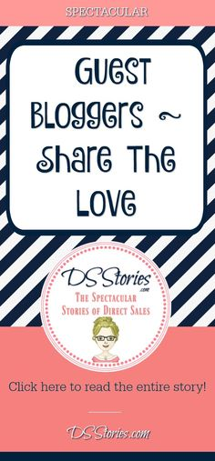 Guest Blogger Share