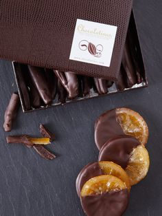 This sounds obscenely delicious! Dark Chocolate Dipped Oranges