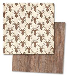 { my mind's eye } Sleigh Bells Ring Reindeer Games paper