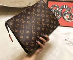 """f82a842e3871 luxeforless on Instagram  """"How perfect is the monogram pouch ! 💕  Versatile"""