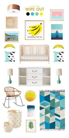surfing baby room inspiration