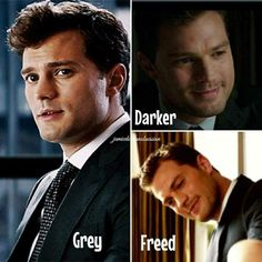 Mr grey is so dreaming 😍 Fifty Shades Quotes, 50 Shades Freed, Fifty Shades Series, Fifty Shades Movie, Fifty Shades Darker, Fifty Shades Of Grey, Jamie Dornan, Golden Brown Hair Color, Trailer Film