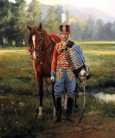 1900 Pavia Hussar - Ferrer Dalmau