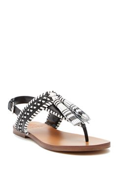 6fa30b294984 Rebeka Tassel Leather Thong Sandal by Vince Camuto on  nordstrom rack Vince  Camuto