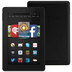 Fire HD 7, 7″ HD Display, Wi-Fi, 8 GB – Includes Special Offers, Black