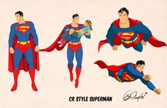 CR Superman Animated style by Des Taylor