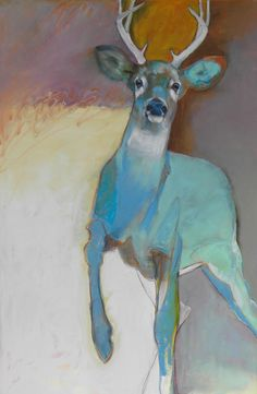 Bilderesultater for rebecca haines art Art Inspo, Painting Inspiration, Images D'art, Deer Art, Abstract Animals, Contemporary Abstract Art, Abstract Landscape, Art Et Illustration, Animal Paintings