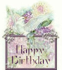 happy friday images photo: Happy Birthday Dove HappyBirthdayDove.gif
