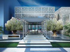Modern Architecture : Hotel Entrance Design Africa Sofitel Tamuda Bay Hotel Architecture ~ Glubdub #ShowroomExteriorDesign #modernarchitecturehotel