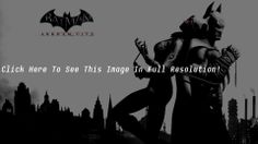 Batman Arkham City Game Desktop Wallpaper HD