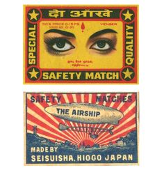 74 Vintage Match Box & Book Covers from Around the Globe   Free Retro Vectors