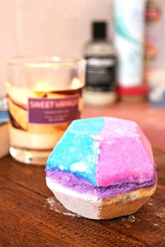 """Bought this bathbomb in Lush the other day, and the lady who served me described it as """"The Disney of bathbombs"""" ... perfect for me!"""