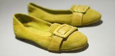 Pantofola d'Oro Marlene Camscio/Nappa T.C. Suola Cuoio - Womens Shoes - Yellow