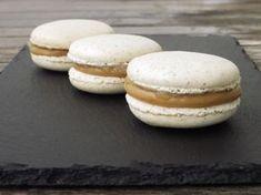 Macarons med æble og karamel Macarons, Strudel, Hamburger, Snacks, Cookies, Cake, Sweet, Den, Store