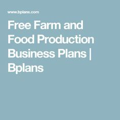 Self storage business plan sample executive summary bplans free farm and food production business plans bplans friedricerecipe Choice Image