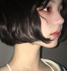 Cute Makeup, Makeup Looks, Ulzzang Hair, M Anime, Pretty Korean Girls, Ex Machina, Girl Short Hair, Cute Girl Face, Aesthetic Hair