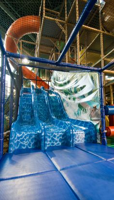 #Iplayco - indoor playground installed at City of Edina, Minnesota  www.iplayco.com or sales@iplayco.com #commercial slides tubes fun