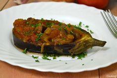 Cuuking!: Recetas de cine!: Imam Bayildi o Berenjena a la turca. (Un toque de canela) // Turkish style stuffed eggplant