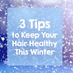 Air-Tan Blog | 3 Tips to Keep Your Hair Healthy This Winter  Read Jennifer's tips on how to make sure your hair stays lookin' fab this holiday season.  hair care, hair tips, hair remedies, dandruff remedy, conditioner, conditioning