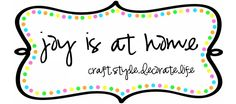 This Lady has a great blog page...lots of cute cute cute crafts :)