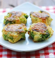 Cheesy Broccoli Bites | Healthy Recipes Blog
