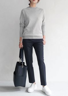 Casual Work Outfits, Office Outfits, Work Casual, Casual Office, Bon Look, Outfits Damen, Minimalist Dresses, Minimalist Chic, Inspiration Mode