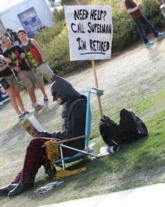 Super retired. superheroes, costumes