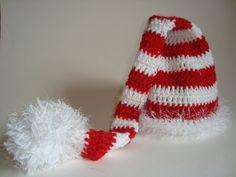 Handmade Crochet Christmas Elf Hat for Toddler by SuperCrochetMom, $2.99