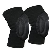Knee Pads Compression Knee Sleeve Collision Avoidance Knee Brace for Volleyball Basketball Wrestling Running Cycling Sports (1 Pair)