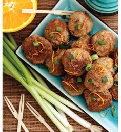 """For Recipe: CLICK on PIC and when taken to 2nd pic click again..Asian Pork Meatballs...  ...Recipe by George Stella... ...For tons more Low Carb recipes visit us at """"Low Carbing Among Friends"""" on Facebook"""
