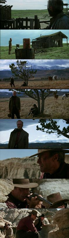 Clint Eastwood as William Will Munny in Unforgiven.(1992)