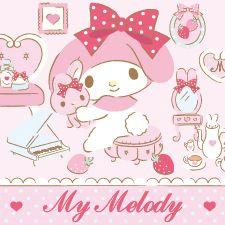 マイメロディ いちごいろのリボンデザインシリーズ #MyMelody