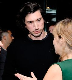 """driverdaily: """"Adam Driver at the after party of the special Screening in New York on Septermber 2018 """" Star Wars Love, Rey Star Wars, Star Trek, Ugly Men, Ugly Guys, Guys My Age, Kylo Ren Adam Driver, You're Hot, Famous Men"""