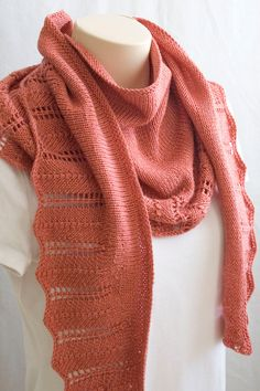Knitting Pattern Shawl Wrap Knit