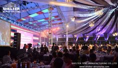 The #largepartytent we manufactured covered an area of 2,500sqm and could hold a population of over1,600. #partymarquee #largemarqueeforsale http://www.shelter-structures.com/products/party-tent contains its information, and marketing1@shelter-structures.com will be glad to help.