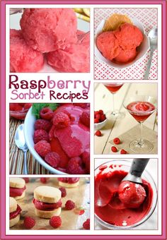Check out the newest post (7 Raspberry Sorbet Recipes) on 3 Boys and a Dog at 3boysandadog.com/...
