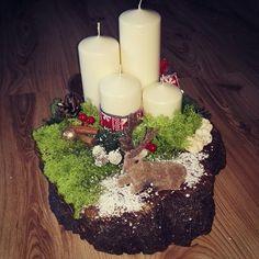 Advent #christmas #2017 #christmasdeer #deer #redandwhite #cinnamon #farönk #gyertya #karácsony #advent