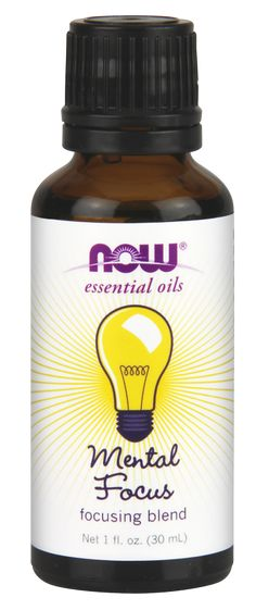 Mental Focus Oil Blend | NOW Foods