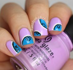 the nail polish challenge: 31 Day Nail Art Challenge 2.0, Day 3: Blue or Violet