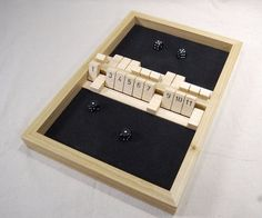 The 2 Player Shut the Box Game