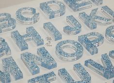 Resin Jewelry Making, Diy Resin Crafts, Letter Recognition, Letter Set, Sensory Bins, Resin Art, Make And Sell, Keychains, Alphabet
